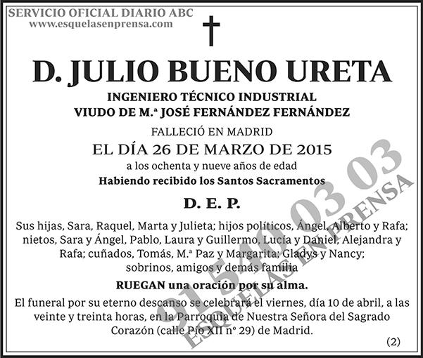 Julio Bueno Ureta